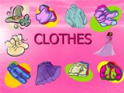 English powerpoint: CLOTHES.EXERCISE VERSION