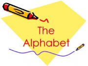 English powerpoint: The alphabet in pictures (from A to N)