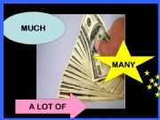 English powerpoint: Much, many, a lot of