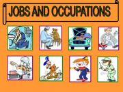 English powerpoint: Jobs  game