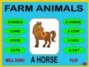 English powerpoint: Farm animals + WS