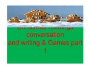 English powerpoint: Christmas games comprehension writing and lesson plan ideas part 1