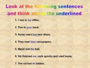 English powerpoint: possessive pronouns