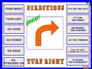 English powerpoint: Directions 1 + WS