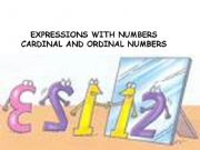 English powerpoint: cardinal-ordinal numbers
