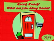 English powerpoint: Knock, knock! What are you doing Santa? PART 1