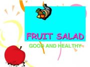 English powerpoint: FRUIT SALAD