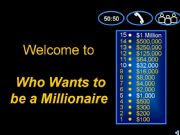 English powerpoint: Who wants to be a millionaire_grammar & vocabulary quiz for intermediate students