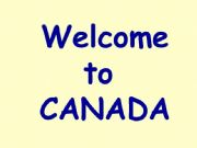 English powerpoint: Canada Part 1 of 6