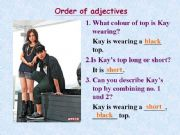 English powerpoint: order of adjecti ve