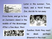 English powerpoint: The Adventures of Tom Sawyer, by Mark Twain (PART 2)