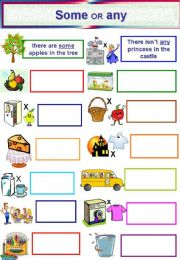 English powerpoint: SOME or ANY