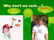 English powerpoint: second part of suggestion expressions