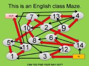 English powerpoint: Game
