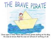 English powerpoint: THE BRAVE PIRATE