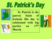 English powerpoint: St. Patrick´s Day