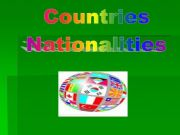 English powerpoint: Countries-nationalities