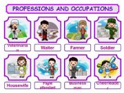 English powerpoint: PROFESSIONS AND OCCUPATIONS PRESENTATION!