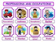 English powerpoint: PROFESSIONS AND OCCUPATIONS PRESENTATION 2