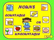 English powerpoint: Nouns (countable and uncountable)