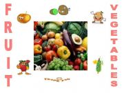 English powerpoint: fruit and vegetables