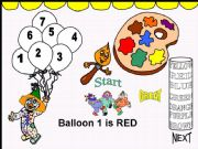 English powerpoint: Colours (colors) - GAME
