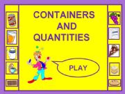 English powerpoint: containers and quantities1