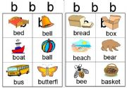 English powerpoint: b workcard