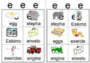 English powerpoint: e workcard