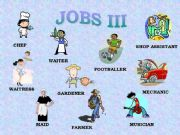 English powerpoint: JOBS III