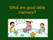 English worksheets manners worksheets page 1 for 10 good table manners
