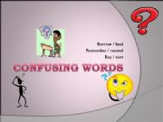 English powerpoint: Confusing words