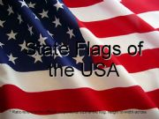 English powerpoint: State Flags of the USA (1/2)