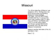 English powerpoint: The State Flags of the USA (2/2)