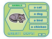 English powerpoint: ANIMALS game