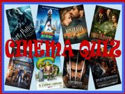 English powerpoint: Cinema Quiz - Interactive Game (PART 1)