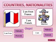 English powerpoint: Countries and nationalities GAME