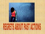 English powerpoint: REGRETS WITH SHOULD HAVE-SHOULDN´T HAVE