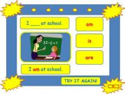 English powerpoint: TO BE game