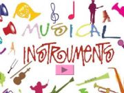 English powerpoint: MuSiCaL iNsTrUmEnTs (Interactive) with sounds