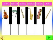 English powerpoint: MuSiCaL iNsTrUmEnTs 2 (Interactive) with sounds