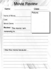 Write a review of a filmbook you have seen or read recently