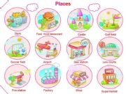 English powerpoint: PLACES PRESENTATION 1