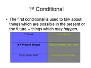 English powerpoint: 1 condional 1/2