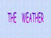 English powerpoint: The weather 1