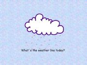 English powerpoint: Part 2: The weather
