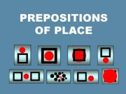 English powerpoint: PREPOSITIONS OF PLACE --- WHERE (9 pages)
