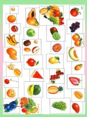 English powerpoint: Fruit BOARDGAME + 10 game ideas  (I would like... It is bigger than... It looks like... It´s sour /sweet ... two-word expressions - strawberry cream..., It is from...)