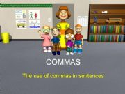English powerpoint: Use of commas in sentences