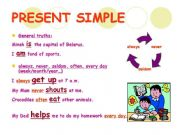English powerpoint: Simple tenses +Present Continuous